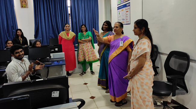 Departments of CSE, ISE and MCA organized a Coding Contest in association with Computer Society of India (CSI)