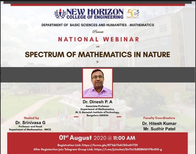 spectrum of mathematics