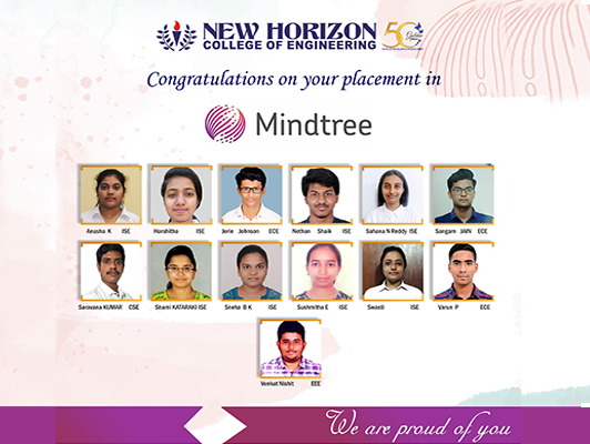 Congratulations on your Placements