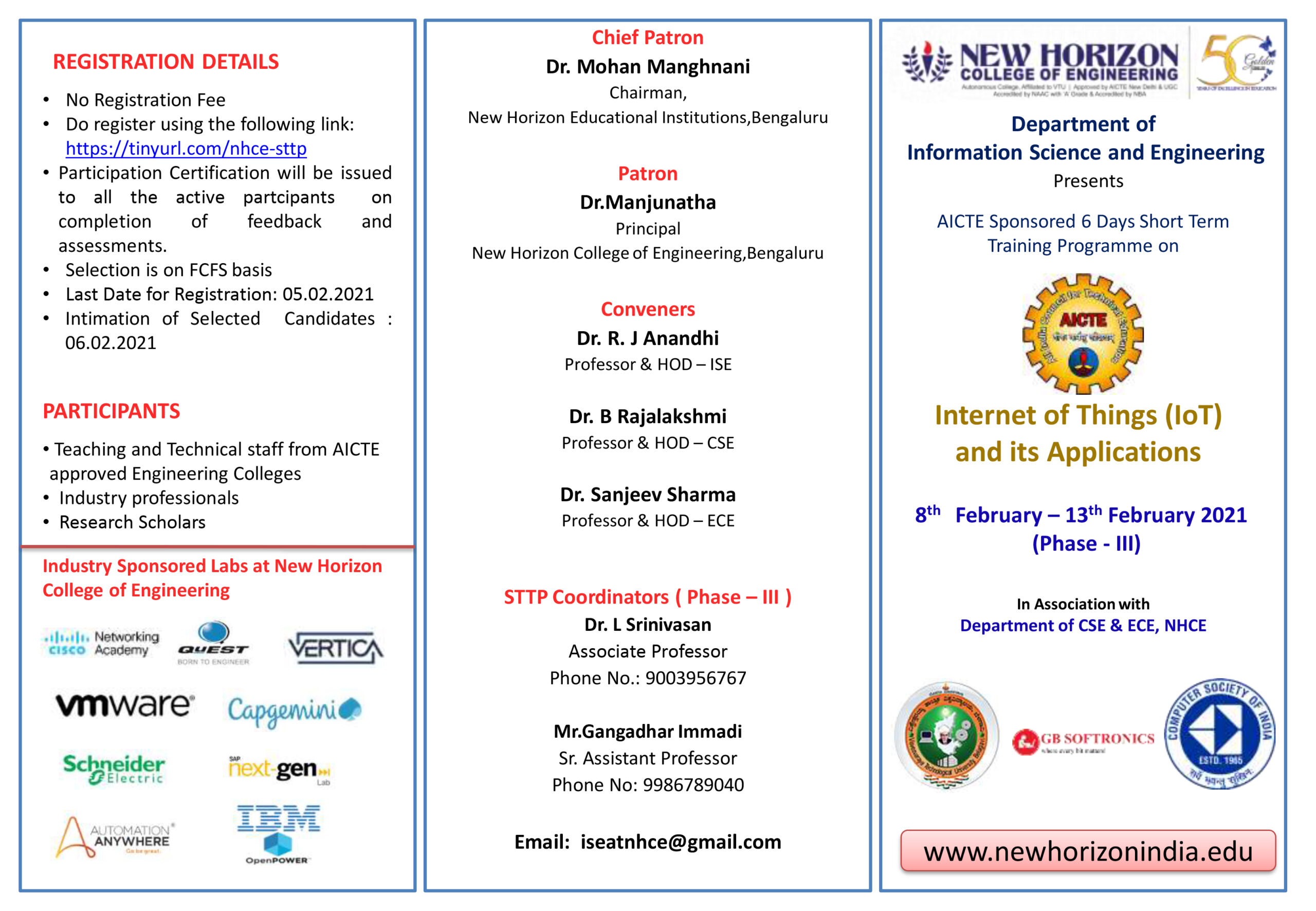 NHCE -ISE STTP Brochure PHASE-3 -IOT-1